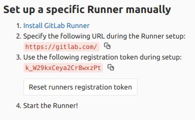 Gitlab Runner using Kubernetes Executor